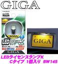 カーメイト GIGA BW145 LEDライセンスランプK Cタイプ