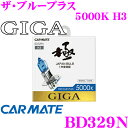 カーメイト GIGA BD329N H3 ヘッドライト/フォ...