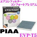 PIAA ピア EVP-T5 コンフォートプレミアム エアコンフィルター トヨタ アクア/アルファード/ヴェルファイア/ヴォクシー等