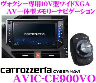 Carrozzeria 網路導航中航 CE900VO 80 系列 Voxy (包括混合)-只有 10 V 型寬 XGA 充分賽格數碼/DVD-V/CD/SD/USB/藍牙 AV 綜合導航系統中