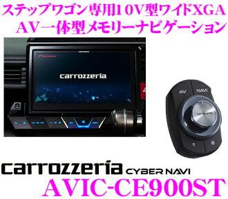 Carrozzeria 網路導航中航 CE900ST RP 系統和步 WGN 只有斯帕達 10 V 型寬 XGA 充分賽格數位 DVD-V/CD/SD/USB/藍牙 AV 一個組合的導航系統中