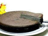 クレープ工房ブラック&ホワイトミルクレープ(7号ホールケーキ)