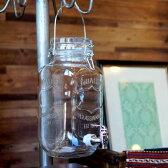 【DULTON】Beverage server Ivy M411-216 ビバレッジサーバー・アイビー 3L ガラスサーバー ガラス容器 パーティー キッチン ジュース ドリンク