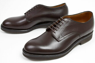 Alden calf plane toe dark brown (ALDEN 53546) fs3gm