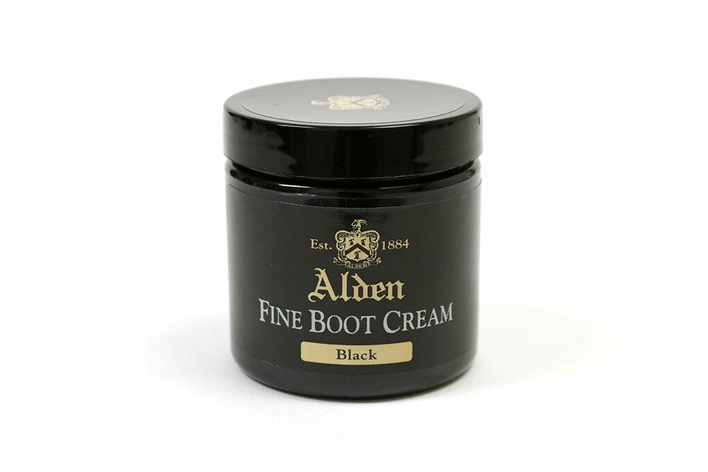 【ポイント10倍!】オールデン ファインブーツクリーム ブラック (ALDEN FINE BOOT CREAM BLACK)10P18Jun16