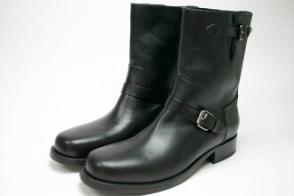 Engineer terrorism shortstop boots black (BUTTERO B2321 PE-BOO NERO)
