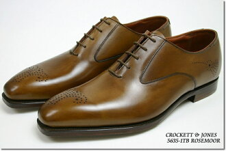 Crockett & Jones hand grade オックスフォードプレーントゥ exorcism Tan ( CROCKETT JONES ROSEMOOR TAN ANTIQUE CALF ) 10P28oct13