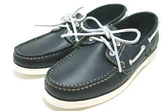 Para-boots deck shoes Bath navy (Paraboot BARTH BLANCHE-NAVY)