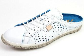 スピングルムーブ サボスニーカー 721 White x blue ( SPINGLE MOVE SPM-721 White/Blue ) ( スピングルムーヴ ) 10P28oct13