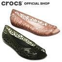 【クロックス公式】イザベラ ジェリー フラットウィメン / crocs パンプス フラットシューズ レディース アウトレット outlet 【PR1】