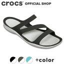 【クロックス公式】スウィフトウォーター サンダル ウィメン Swiftwater Sandal / crocs サンダル レディース 【PR2】