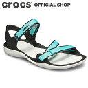 スウィフトウォーター ウェビング サンダル ウィメン Swiftwater Webbing Sandal / crocs レディース スポーツサンダル アウトドア
