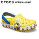 【クロックス公式】ファン ラブ ミニオンズ マルチ クロッグ キッズ Fun Lab Minions Multi Clog Kids / crocs サンダル 定番 【PR3】