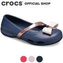 リナ チャーム フラット キッズ Lina Charm Flat Kids / crocs パンプス フラットシューズ