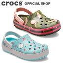 クロックバンド マルチ グラフィック クロッグ キッズ Kids' Crocband Multi-Graphic Clog / crocs サンダル 定番