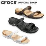 クレオ サンダル Cleo Sandal / crocs サンダル レディース アウトレット outlet ぺたんこ