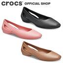 【クロックス公式】スローン フラット ウィメン Sloane Flat / crocs レディース パンプス フラットシューズ【OL】