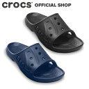 【クロックス公式】バヤ スライド Baya Slide / crocs スポーツサンダル スライド ...