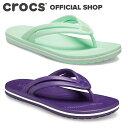【クロックス公式】クロックバンド フリップ ウィメン Crocband Flip / crocs レディース ビーチサンダル【OL】