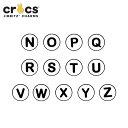 ジビッツ(jibbitz) アルファベット(N-Z)(Alphabet N-Z) /クロックス/シューズアクセサリー/イニシャル/【RCP】[BLU][C/A]【76】【ポイント10倍対象外】