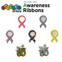 ジビッツ(jibbitz) アウェネス リボン(Awareness Ribbons) /ペアリング(Pair Ring)/クロックス/シューズアクセサリー/キャラクター/【RCP】【66】
