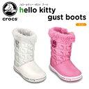 クロックス(crocs) ハローキティー ガスト ブーツ (hello kitty gust boot) /キッズ/ブーツ/シューズ/子供用【30】【あす楽対応】