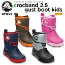 クロックス(crocs) クロックバンド 2.5 ガストブーツ キッズ (crocband 2.5 gust boot kids) /キッズ/ブーツ/シューズ/子供用【30】【あす楽対応】