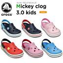 【21%OFF】クロックス(crocs) クロックバンド ミッキー クロッグ 3.0 キッズ(crocband mickey clog 3.0 kids)/キッズ/サンダル/シュ..