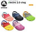 クロックス(crocs) エレクトロ 2.0 クロッグ(electro 2.0 clog )/キッズ/サンダル/子供用[H]【20】[r]【ポイント10倍対象外...