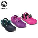 クロックス(crocs) ブリッツェン 2.0 アニマル プリント キッズ(blitzen 2 animal print clog k)/キッズ/サンダル/シュ...