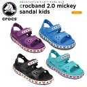 【26%OFF】クロックス(crocs) クロックバンド 2.0 ミッキー サンダル キッズ(crocband 2.0 Mickey sandal kids) キッズ/サンダル/子供..
