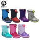 クロックス(crocs) クロックバンド ロッジポイント ブーツ キッズ(crocband lodgepoint boot kids) /キッズ/ブーツ/シュー...