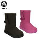 クロックス(crocs) ロッジポイント ブーツ キッズ(lodgepoint boot kids ) /キッズ/ブーツ/シューズ/子供用[r]