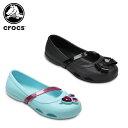 【25%OFF】クロックス(crocs) クロックス リナ フラット キッズ(crocs lina flat kids)/キッズ/サンダル/子供用[r][C/A]【20】【ポ..