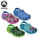 クロックス(crocs) クラシック グラフィック クロッグ キッズ(classic graphic clog kids)/キッズ/サンダル/シューズ/子供用[r][C/A]..