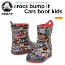 【25%OFF】クロックス(crocs) クロックス バンプ イット カーズ ブーツ キッズ(crocs bump it Cars boot kids) /キッズ/ブーツ/シューズ/子供用/ディズニー[r][C/B]【ポイント10倍対象外】