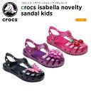 クロックス(crocs) クロックス イザベラ ノベルティ サンダル キッズ(crocs isabella novelty sandal kids )/キッズ/サンダル/子供用..