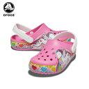 ショッピングcrocs 【10%OFF】クロックス(crocs) クロックス ファン ラブ ユニコーン ライツ クロッグ(crocs fun lab unicorn lights clog) キッズ/サンダル/シューズ/子供/キャラクター[C/A]