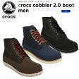 クロックス(crocs) クロックス コブラー 2.0 ブーツ メン(crocs cobbler 2.0 boot men) /メンズ/男性用/ブーツ/シューズ/【30】【ポイント10倍対象外】