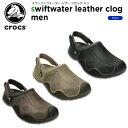 クロックス(crocs) サンタクルーズ 2.0 ラックス メン(santa cruz 2.0 luxe men )/メンズ/男性用/スリッポン/シューズ/[r]