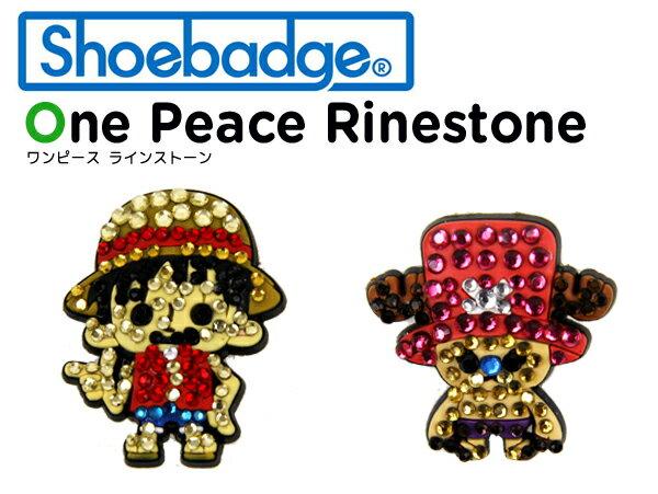 シューバッジ(Shoebadge) ワンピース/ONE PIECE ラインストーン/クロックス/クロックス/シューズアクセサリー/ジビッツ[C/A]