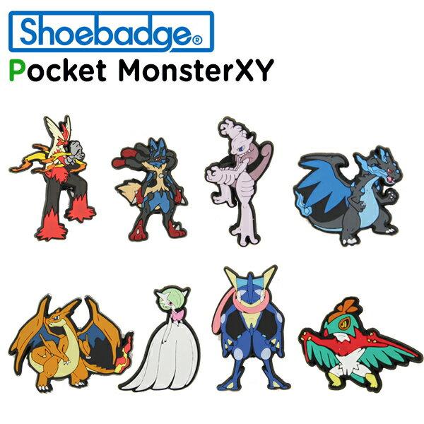 シューバッジ(Shoebadge) ポケットモンスター XY/ポケモンXY/クロックス/シューズアクセサリー/ジビッツ[C/A]