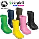 クロックス(crocs) ジョージー 2 (georgie 2) /メンズ/レディース/男性用/女性用/ブーツ/長靴/シューズ/【40】