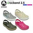 クロックス(crocs) クロックバンド 2.5 クロッグ(crocband 2.5 clog) /メンズ/レディース/男性用/女性用/サンダル/シューズ/[H]