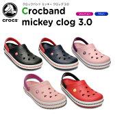 クロックス(crocs) クロックバンド ミッキー クロッグ 3.0(crocband mickey clog 3.0)/レディース/メンズ/女性用/男性用/サンダル/シューズ/【30】【20%OFFクーポン対象外】