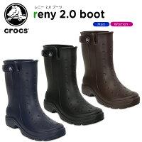 クロックス(crocs)レニー2.0ブーツ(reny2.0boot)/メンズ/レディース/男性用/女性用/ブーツ/長靴/シューズ【あす楽対応】