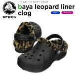 ����å���(crocs) �Х� �쥪�ѡ��� �饤�ʡ� ����å�(baya leopard liner clog) /���/��ǥ�����/������/������/�������/���塼��/��30�ۡڤ������б���