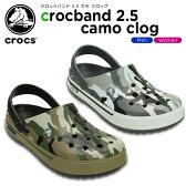 クロックス(crocs) クロックバンド 2.5 カモ クロッグ(crocband 2.5 camo clog) /メンズ/レディース/男性用/女性用/サンダル/シューズ【15】【20%OFFクーポン対象外】