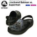 【30%OFF】クロックス(crocs) クロックバンド バットマン vs. スーパーマン(crocband Batman vs. Superman) /メンズ...