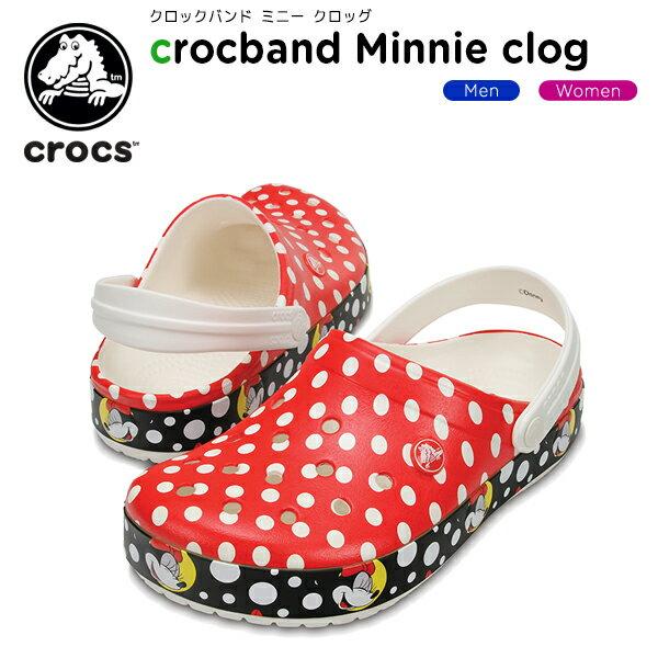 【30%OFF】クロックス(crocs) クロックバンド ミニー クロッグ(crocband Minnie clog) /メンズ/レディース/男性用/女性用/サンダル/シューズ/[r][C/B]【ポイント10倍対象外】